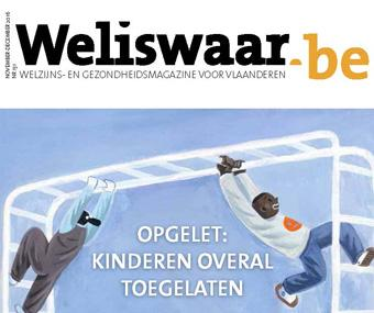 Magazine cover Weliswaar